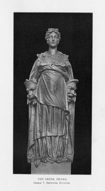 George Thomas Brewster (American, 1862-1943). The Greek Drama, 1909. Indiana limestone, Approx. height: 144 in. (365.8 cm). Brooklyn Museum, Gift of the City of New York, Parks and Recreation, 09.937.18. Creative Commons-BY