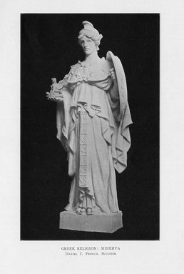 Daniel Chester French (American, 1850-1931). Greek Religion, 1909. Indiana limestone, Approx. height: 144 in. (365.8 cm). Brooklyn Museum, Gift of the City of New York, Parks and Recreation, 09.937.21. Creative Commons-BY