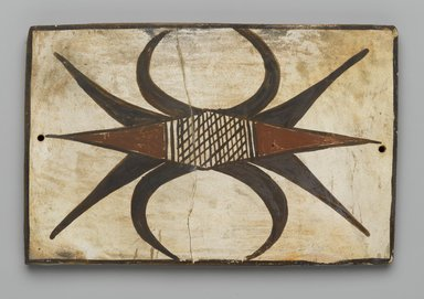 Hopi Pueblo (Native American). Tile, late 19th-early 20th century. Clay, slip, 6 1/8 x 4 in. (15.5 x 10.0 cm). Brooklyn Museum, Brooklyn Museum Collection, X1047.2. Creative Commons-BY
