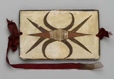 Hopi Pueblo (Native American). Tile, late 19th-early 20th century. Clay, slip, 6 1/8 x 3 3/4 in. (15.5 x 9.5 cm). Brooklyn Museum, Brooklyn Museum Collection, X1047.3. Creative Commons-BY