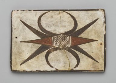 Hopi Pueblo (Native American). Tile, late 19th-early 20th century. Clay, slip, 6 x 3 3/4 in. (15.2 x 9.5 cm). Brooklyn Museum, Brooklyn Museum Collection, X1047.4. Creative Commons-BY
