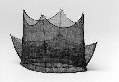 Korean. Hat (Jeongjagwan), 19th century. Horsehair, 6 11/16 x 12 5/8 x 9 13/16 in. (17 x 32 x 25 cm). Brooklyn Museum, Brooklyn Museum Collection, X1142. Creative Commons-BY