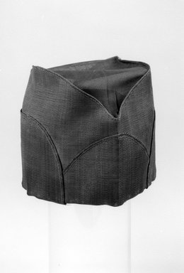 Korean. Hat, ca. 1920. Horsehair, gauze, paper, 10 5/8 x 5 13/16 in. (27 x 14.7 cm). Brooklyn Museum, Brooklyn Museum Collection, X1143. Creative Commons-BY