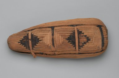Mummy of Ibis, 30 B.C.E.-395 C.E. Animal remains, linen, 4 1/2 x 2 11/16 x 11 7/16 in. (11.4 x 6.8 x 29.1 cm). Brooklyn Museum, Brooklyn Museum Collection, X1179.1. Creative Commons-BY