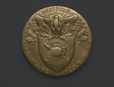Brooklyn Museum: Sesquicentennial Medal of the U.S. Military Academy