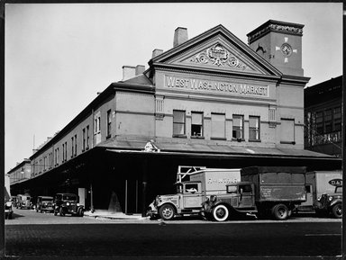 Brooklyn Museum: West Washington Market, West St. & Loew Ave. C 13