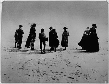 Breading G. Way (American, 1860-1940). Coney Island, Brooklyn, ca. 1868. Gelatin silver photograph, image: 10 13/16 x 13 9/16 in. (27.5 x 34.4 cm). Brooklyn Museum, Brooklyn Museum Collection, X892.13