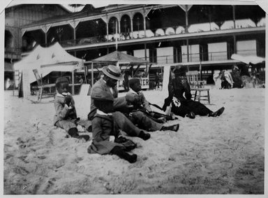 Brooklyn Museum: Negro Family, Coney Island, Brooklyn