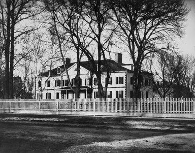 George Bradford Brainerd (American, 1845-1887). Erasmus Hall School, Flatbush, Brooklyn, 1877, printed 1940s. Gelatin silver photograph, sheet: 11 x 13 3/4 in. (27.9 x 34.9 cm). Brooklyn Museum, Brooklyn Museum Collection, X894.156