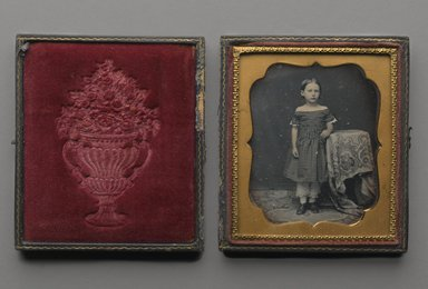 Standing Young Girl, n.d. Daguerreotype, Image (sight): 2 3/4 x 2 1/4 in. (7 x 5.7 cm). Brooklyn Museum, Brooklyn Museum Collection, X894.8
