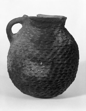 Ancient Pueblo (Anasazi) (Native American). Pitcher, 900-1300 C.E. Clay, 5 1/2 x 5 in. (14 x 12.7 cm). Brooklyn Museum, Brooklyn Museum Collection, X949.8. Creative Commons-BY