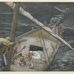 Jesus Sleeping During the Tempest (Jésus dormant pendant la tempête)
