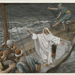 Jesus Stilling the Tempest (J&eacute;sus calmant la temp&ecirc;te)