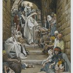 In the Villages the Sick Were Presented to Him (Dans les villages on lui présentait des malades)