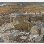 The Pagan Temple Built by Hadrian on the Site of Calvary (Le temple païen construit par Hadrien sur lemplacement de Calvaire)
