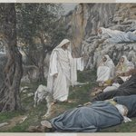 Jesus Commands the Apostles to Rest (Jésus engage les apôtres à se reposer)