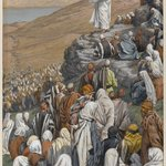 The Sermon of the Beatitudes (La sermon des b&eacute;atitudes)
