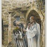 Jesus Heals a Mute Possessed Man (Jésus guérit un possédé muet)