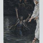 Saint Peter Walks on the Sea (Saint Pierre marche sur la mer)