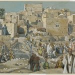 He Went Through the Villages on the Way to Jerusalem (Il allait par les villages en route pour Jérusalem)
