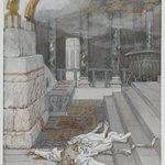 Zacharias Killed Between the Temple and the Altar (Zacharie tué entre le temple et lautel)