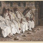 The Wise Virgins (Les vierges sages)