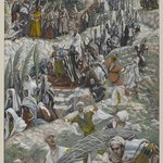 The Procession on the Mount of Olives (Le cort&egrave;ge sur le mont des Oliviers)