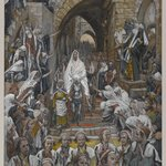 The Procession in the Streets of Jerusalem (Le cortège dans les rues de Jérusalem)