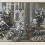 The Merchants Chased from the Temple (Les vendeurs chass&eacute;s du Temple)