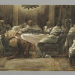 The Last Supper: Judas Dipping his Hand in the Dish (La Céne. Judas met la main dans le plat)