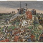 The Procession Nearing Calvary (Le cortège arrivant au calvaire)