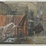 Joseph of Arimathaea Seeks Pilate to Beg Permission to Remove the Body of Jesus (Joseph dArimathie va trouver Pilate pour lui demander la permission denlever le corps de Jésus)
