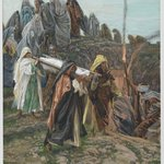 Jesus Carried to the Tomb (J&eacute;sus port&eacute; au tombeau)