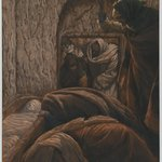 Jesus in the Sepulchre (J&eacute;sus dans le s&eacute;pulcre)
