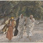 The Pilgrims of Emmaus on the Road (Les pèlerins dEmmaüs en chemin)