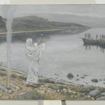 Christ Appears on the Shore of Lake Tiberias (Apparition du Christ sur les bords du lac de Tib&eacute;riade)