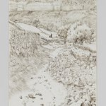 Road Leading from Gethsemane to the Mount of the Ascension (Chemin allant de Getsemani au mont de lAscension)