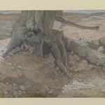The Axe in the Trunk of the Tree (La cognée dans le tronc de larbre)