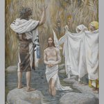 The Baptism of Jesus (Bapt&ecirc;me de J&eacute;sus)