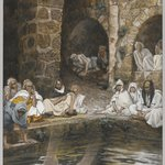 The Piscina Probatica or Pool of Bethesda (La piscine probatique ou de Bethesda)