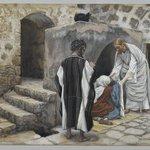 The Healing of Peters Mother-in-law (La guérison de la belle-mère de Pierre)