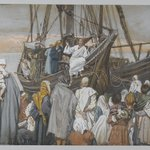 Jesus Preaches in a Ship (J&eacute;sus pr&egrave;che dans une barque)