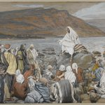 Jesus Teaches the People by the Sea (J&eacute;sus enseigne le peuple pr&egrave;s de la mer)