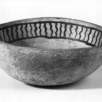 Black on White Bowl