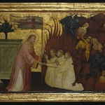 Saint Lawrence Liberates Souls from Purgatory