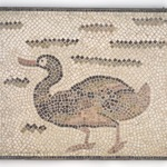 Mosaic of Duck Facing Left
