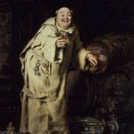 Monk Testing Wine