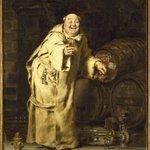 Monk Testing Wine
