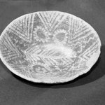 Decorated Oval Bowl