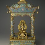 Shrine with an Image of a Bodhisattva